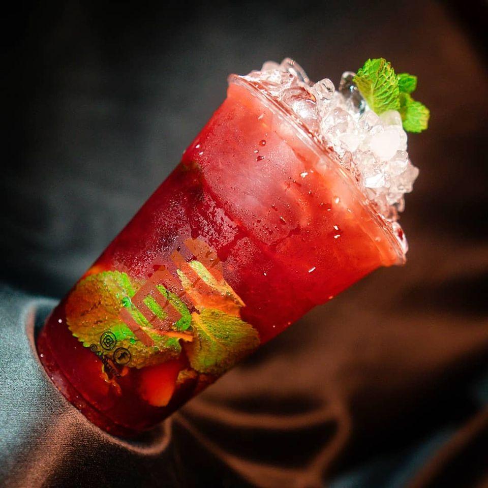 Strawbreeze Mocktail